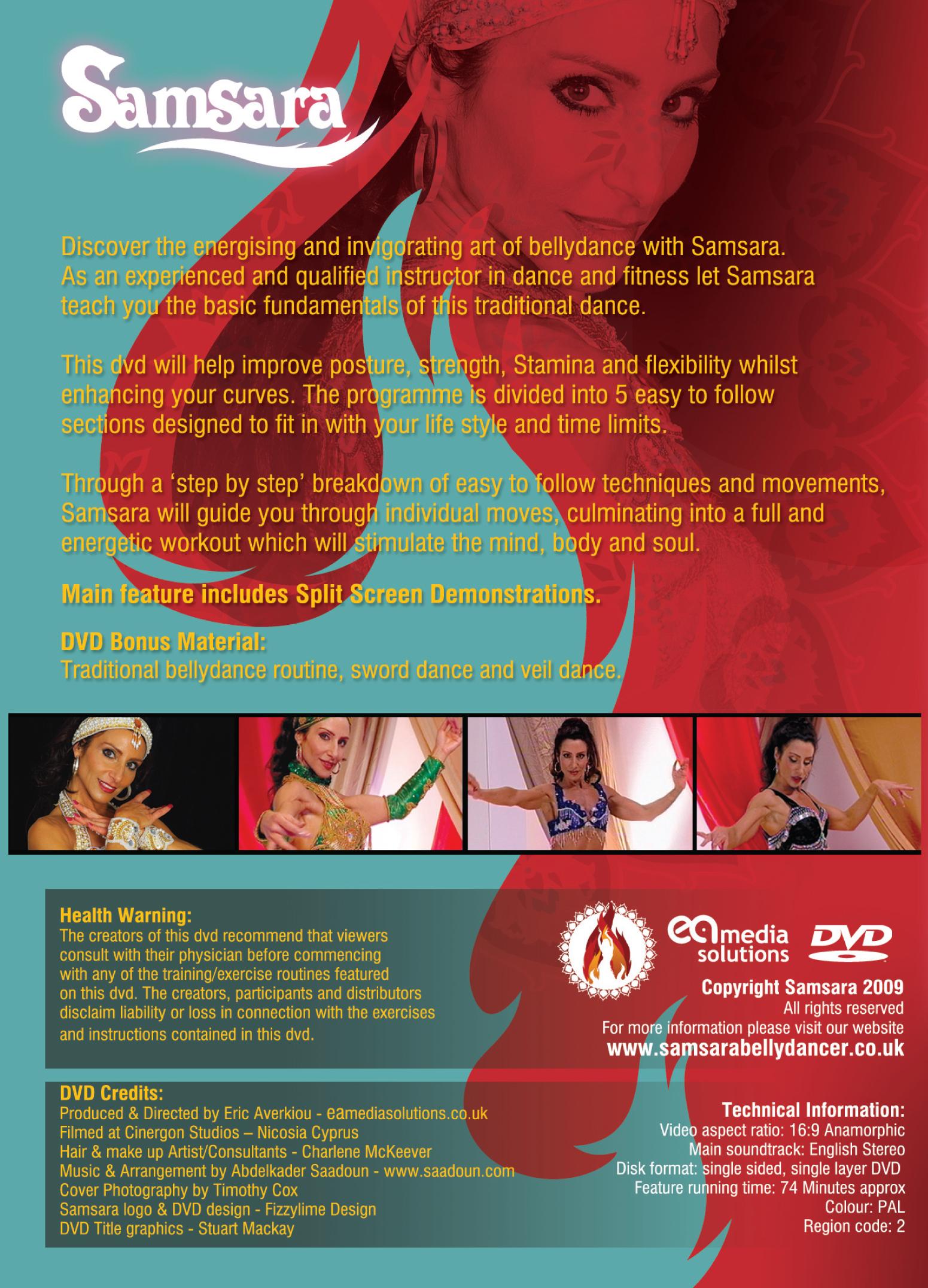 Samsara Bellydance Workout DVD