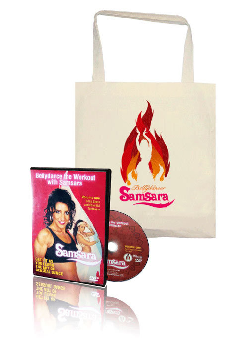Workout DVD & bag