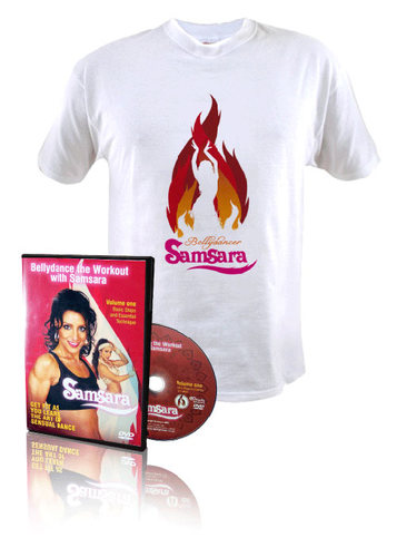 Workout DVD & Tshirt (women) 00011