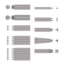 10 Needles set 1 x 1