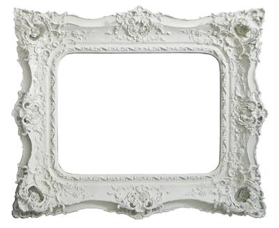 AF008 Ornate Gold/Silver/White mirror