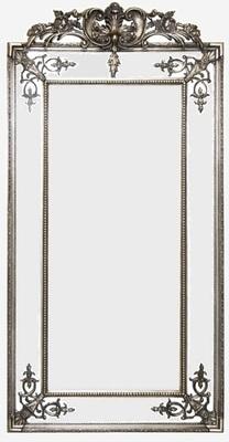 AF018 Antique Silver/Gold classic venetion mirror