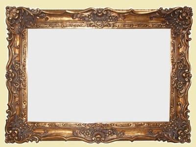 AF013 Ornate, classic, gold mirror