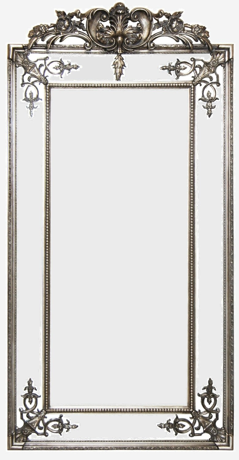 AF018 Antique Silver/Gold classic venetion mirror