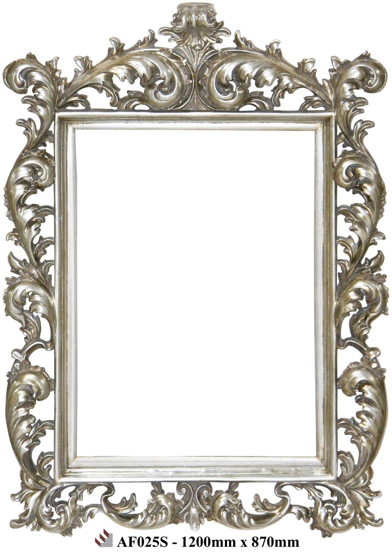 AF025 Antique silver classic mirror