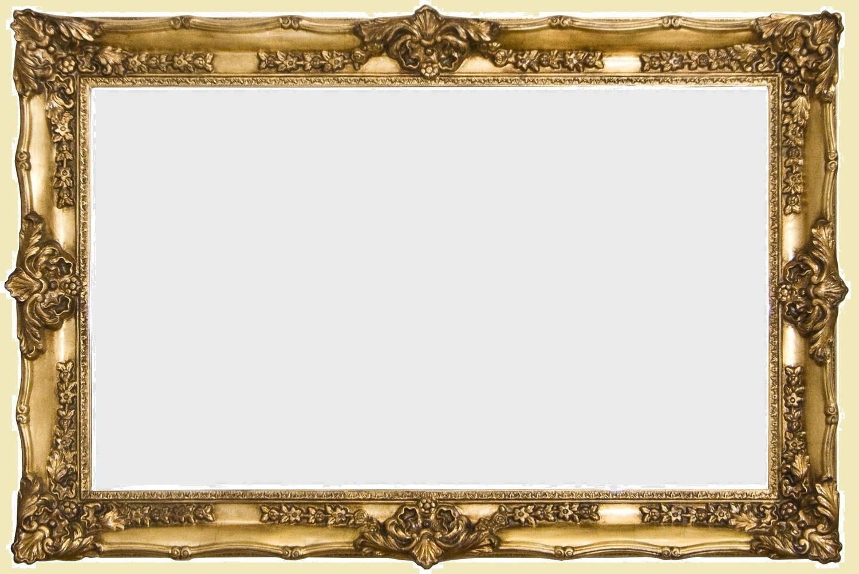 CF099G Classical gold mirror