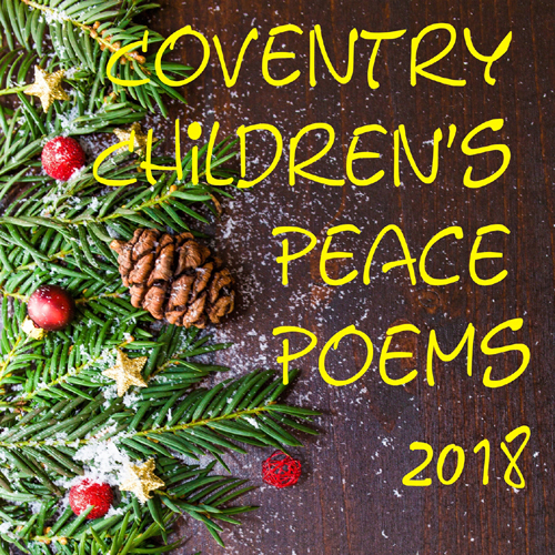 5 Copies Coventry Children's Peace Poems 2018 Paperback with free shipping 00001