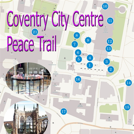 Coventry City Centre Peace Trail 9781871281507