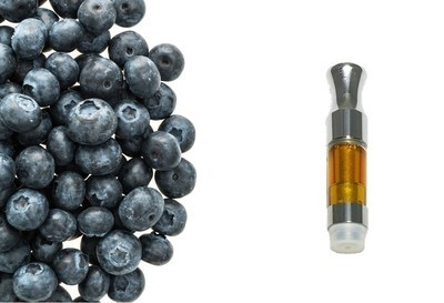 Blueberry-1000mg cartridge