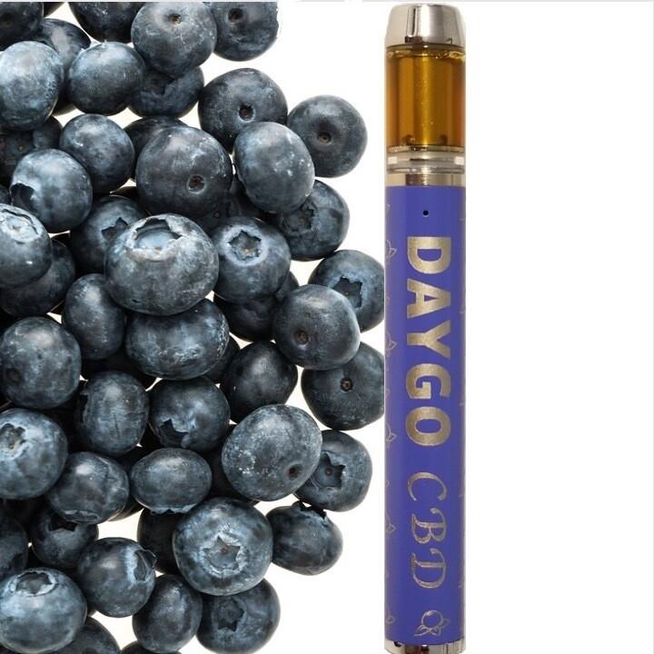 DAYGO rechargable vape pen - blueberry