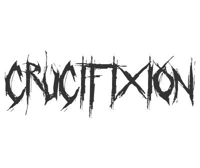 Font License for Crucifixion