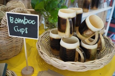 Bamboo Cups (Burnt)