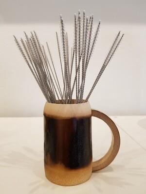Bamboo Straw Cleaning Brush