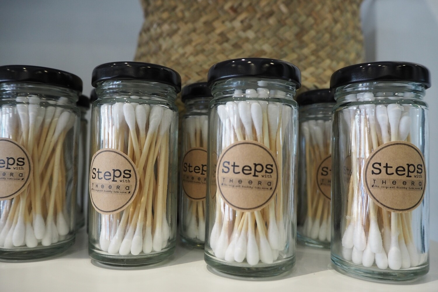 Bamboo Cotton Buds (35 pieces)