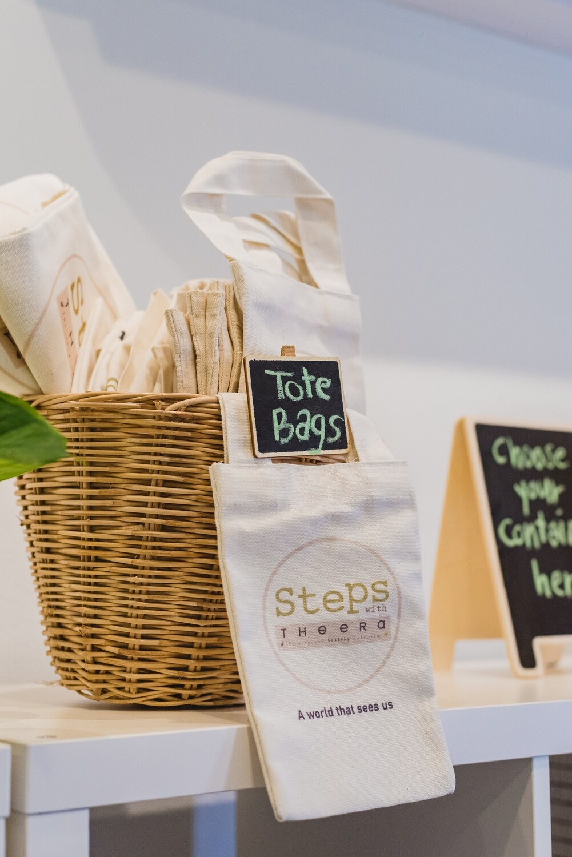 Steps Tote Bag (Mini)
