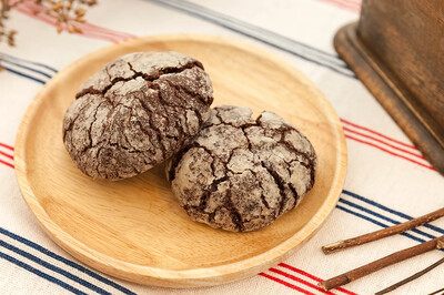 Chocolate Crinkle Cookie (10 pieces)