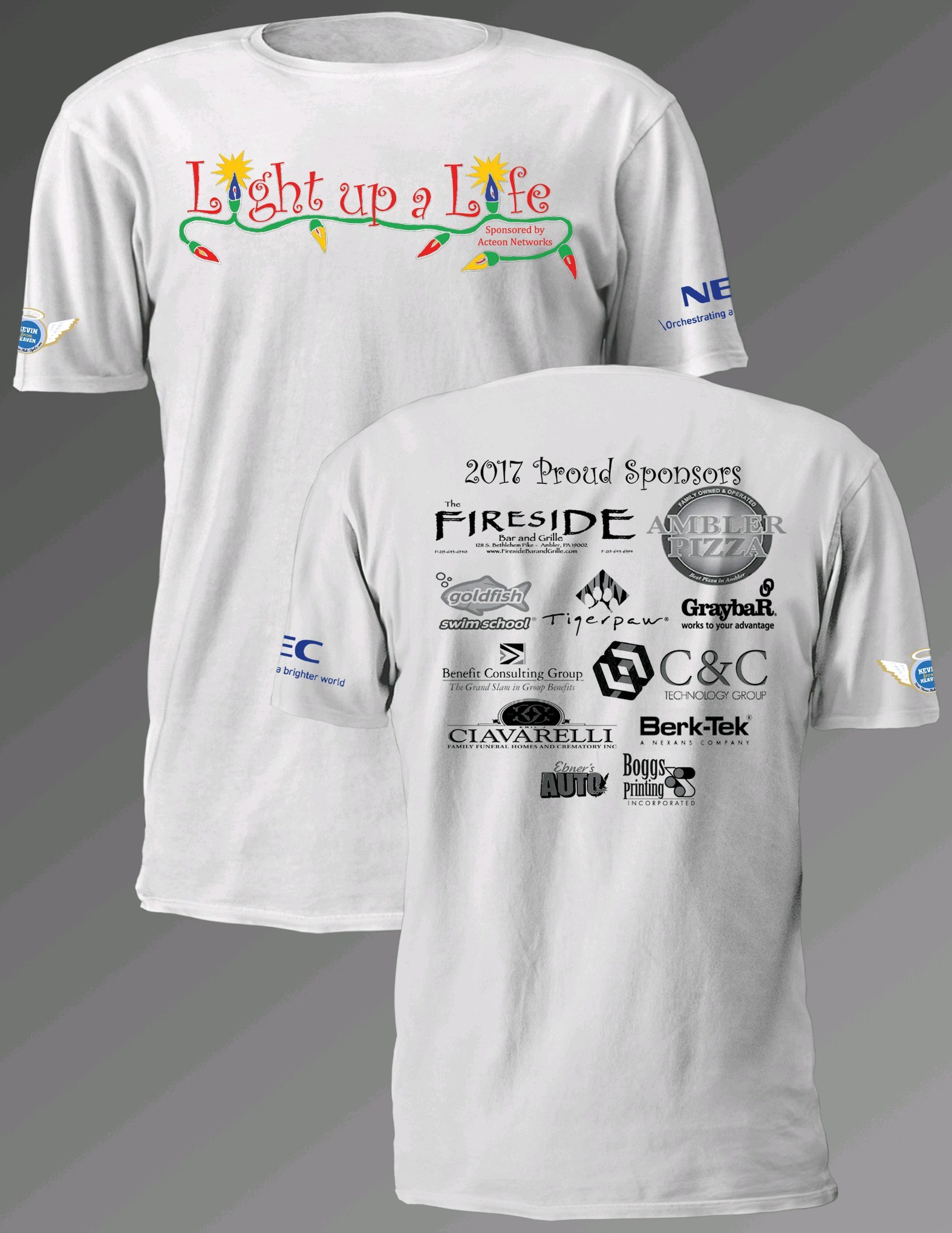 Light up a Lift T-Shirt (2017) 00002