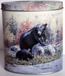 Collectible Wildlife Tin 00004