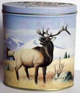 Collectible Wildlife Tin