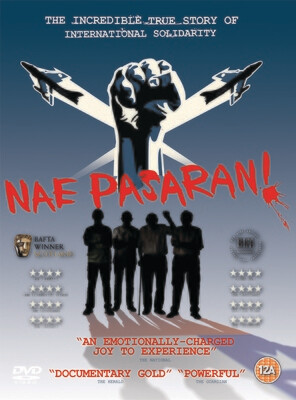 Nae Pasaran DVD and Signed A3 Poster
