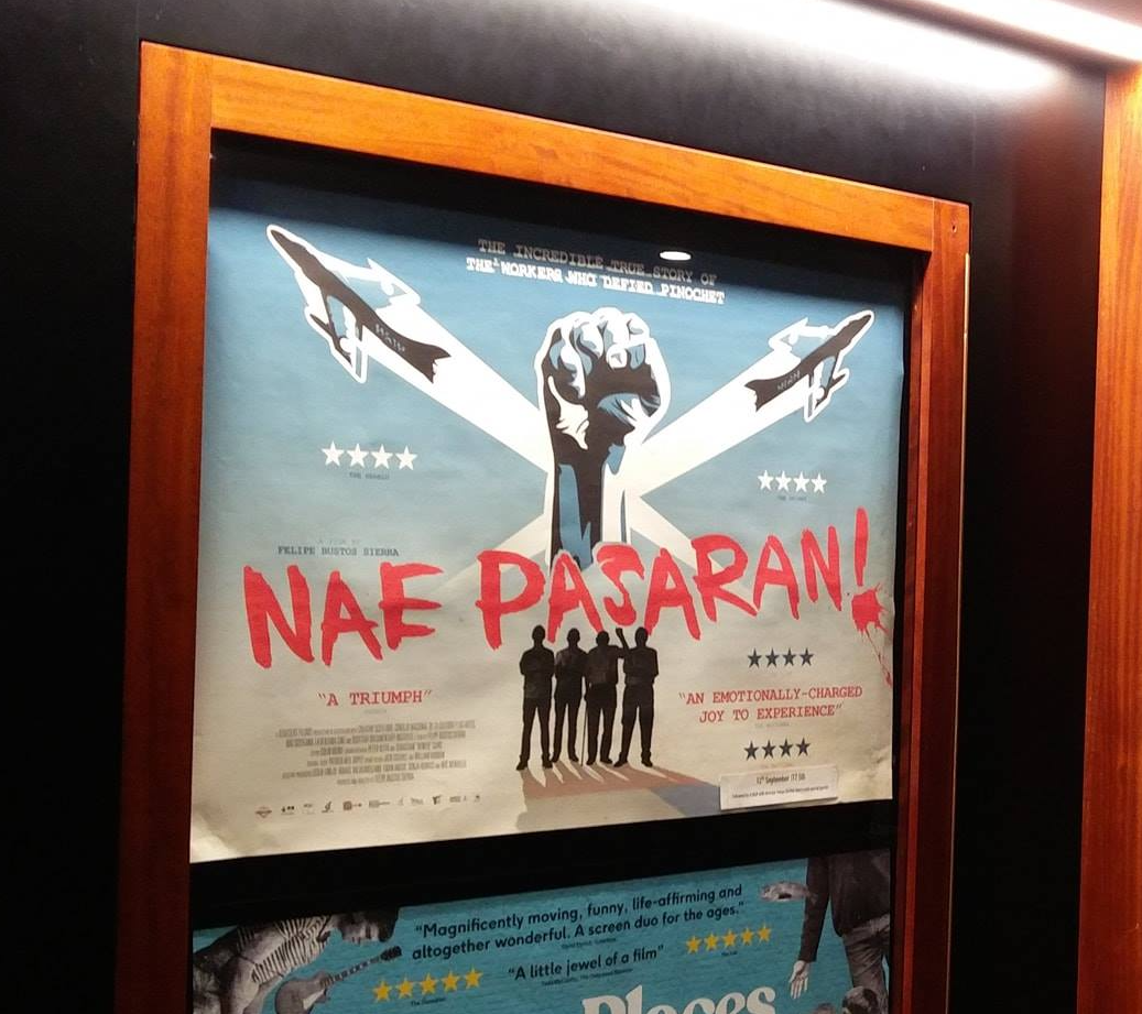 Original Quad UK Cinema Release Nae Pasaran poster (Limited)