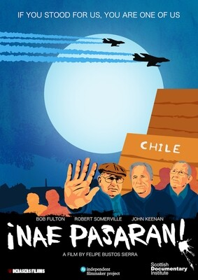 Original NAE PASARAN poster (crowdfunding campaign) - Moon