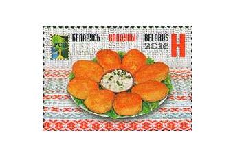 Белоруссия. РСС. Национальная кухня. Колдуны. Марка