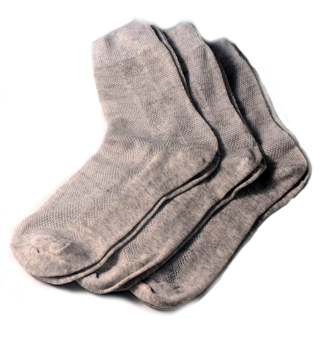 Men's Thin Breathable Mesh-knitted Linen Socks