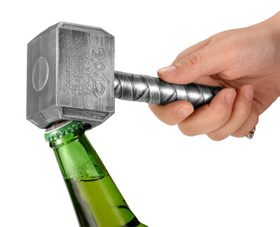 Hammer Of Thor Shaped Beer Opener