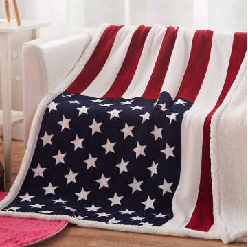 American Flag Blanket