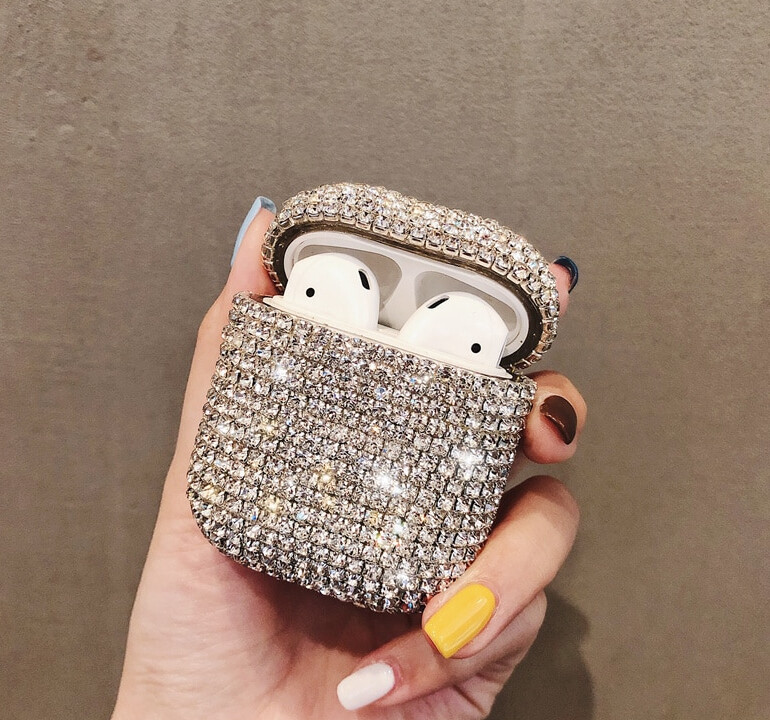 Bling Diamonds Airpods Case Cover