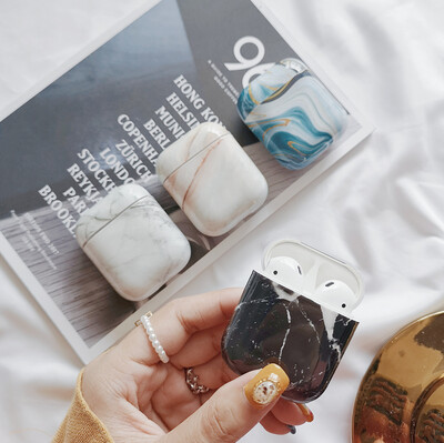 Luxury Marble Airpods Case Cover