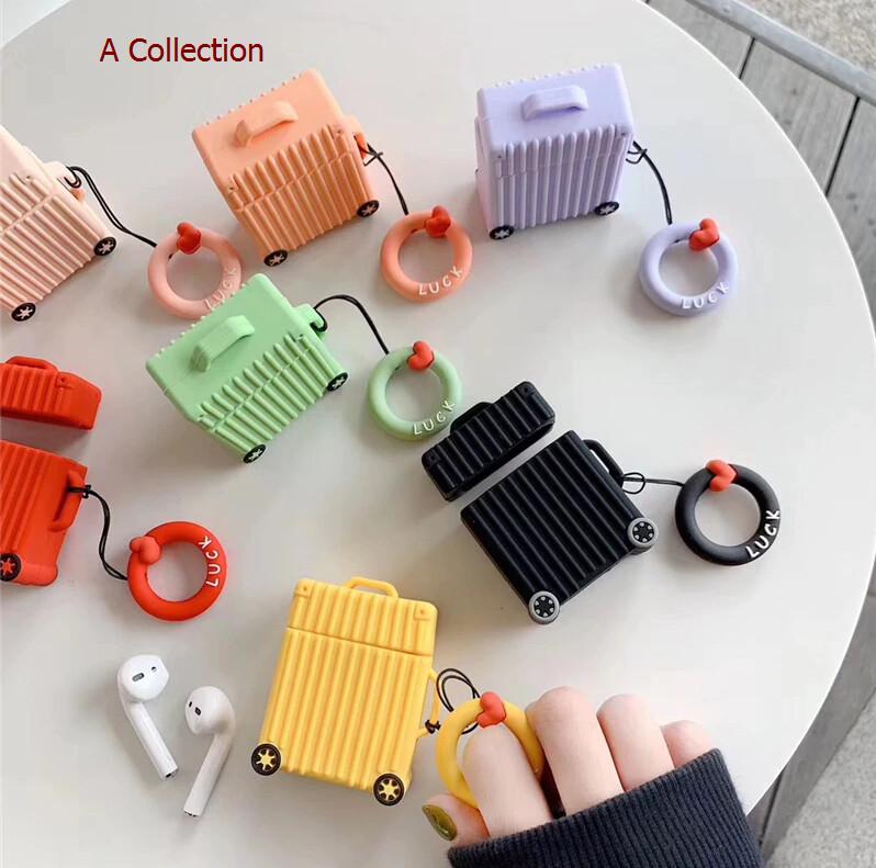 Cute Trunk Airpods Case Cover