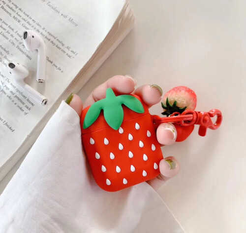 Strawberry Airpods Case Cover