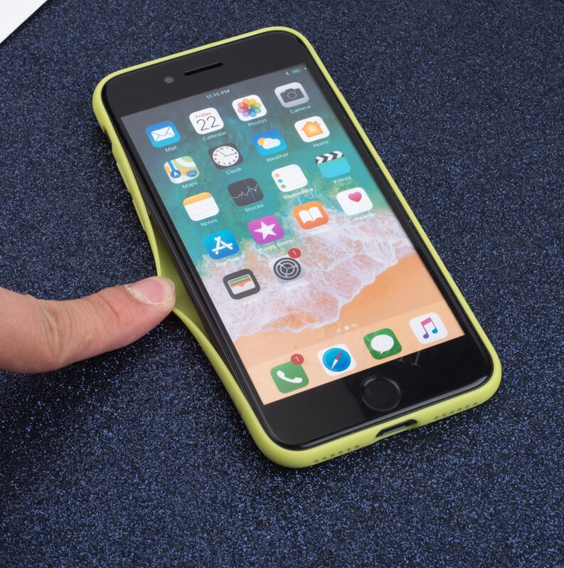 Soft Matte Color Case for iPhone