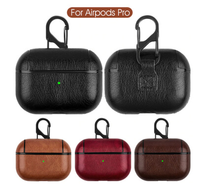 Luxury Leather Bag For Apple AirPods Pro