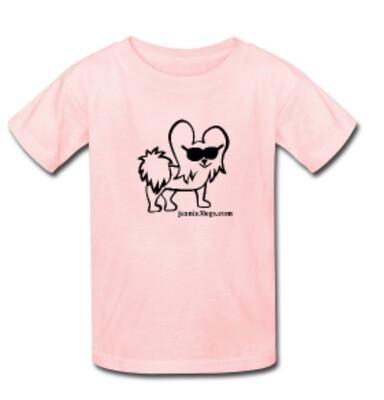 Pink MEDIUM Cartoon Kids T-Shirt