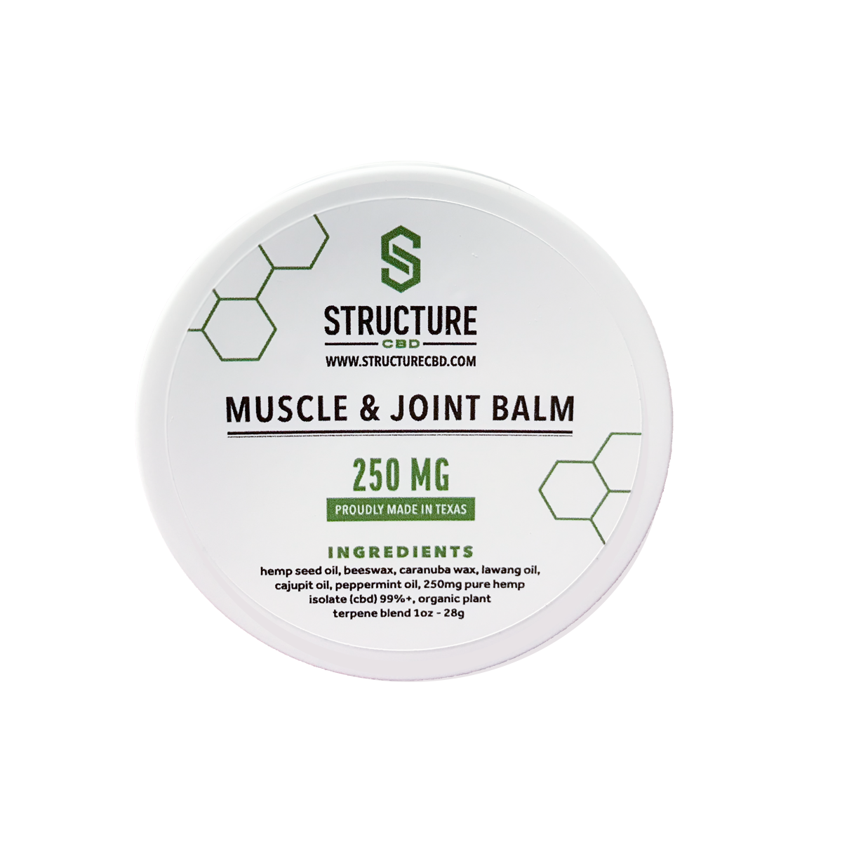 Muscle & Joint Balm STRUCMJB