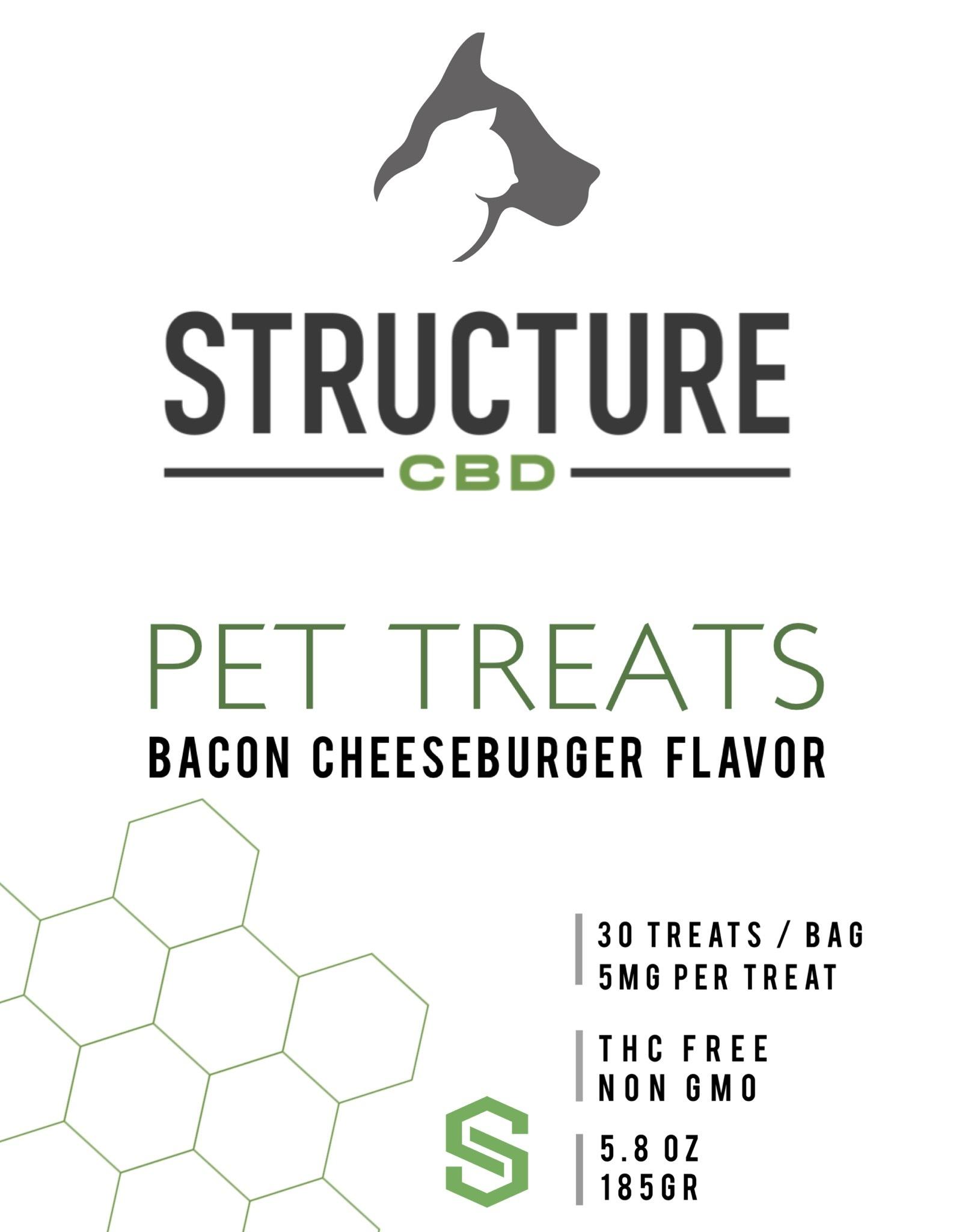 Pet Treats - Bacon Cheeseburger 150mg PETTS150