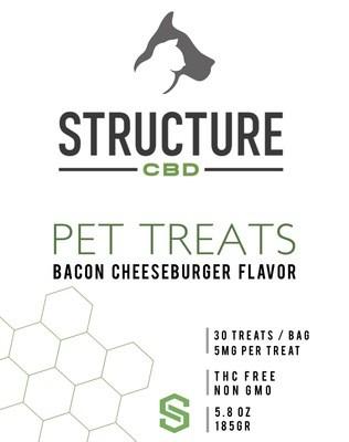 Pet Treats - Bacon Cheeseburger 150mg