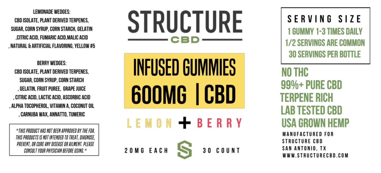 Structure Gummies - Lemon Berry
