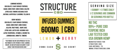 Structure Gummies - Lemon Berry