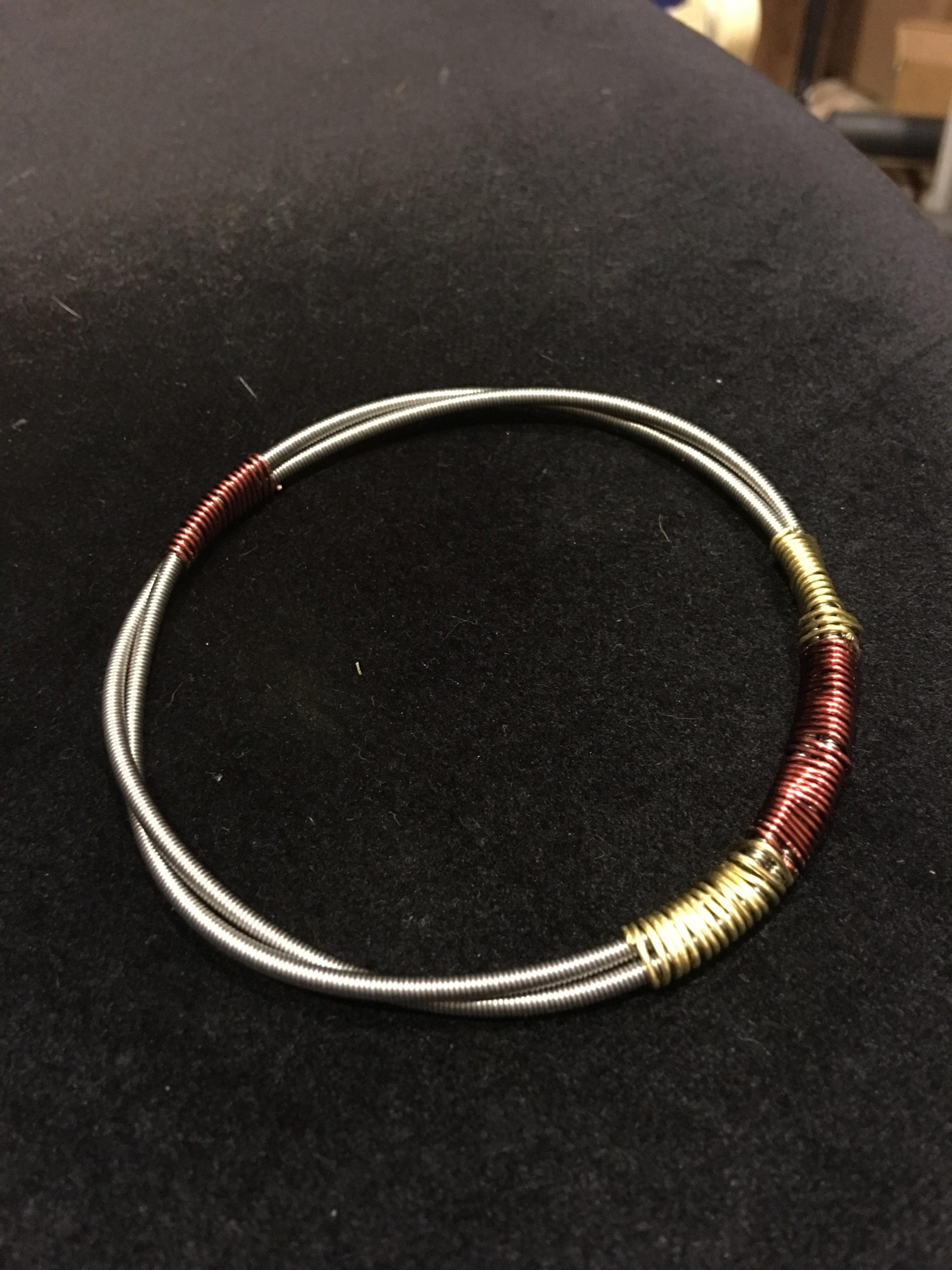Guitar String Bracelet GSBR 2