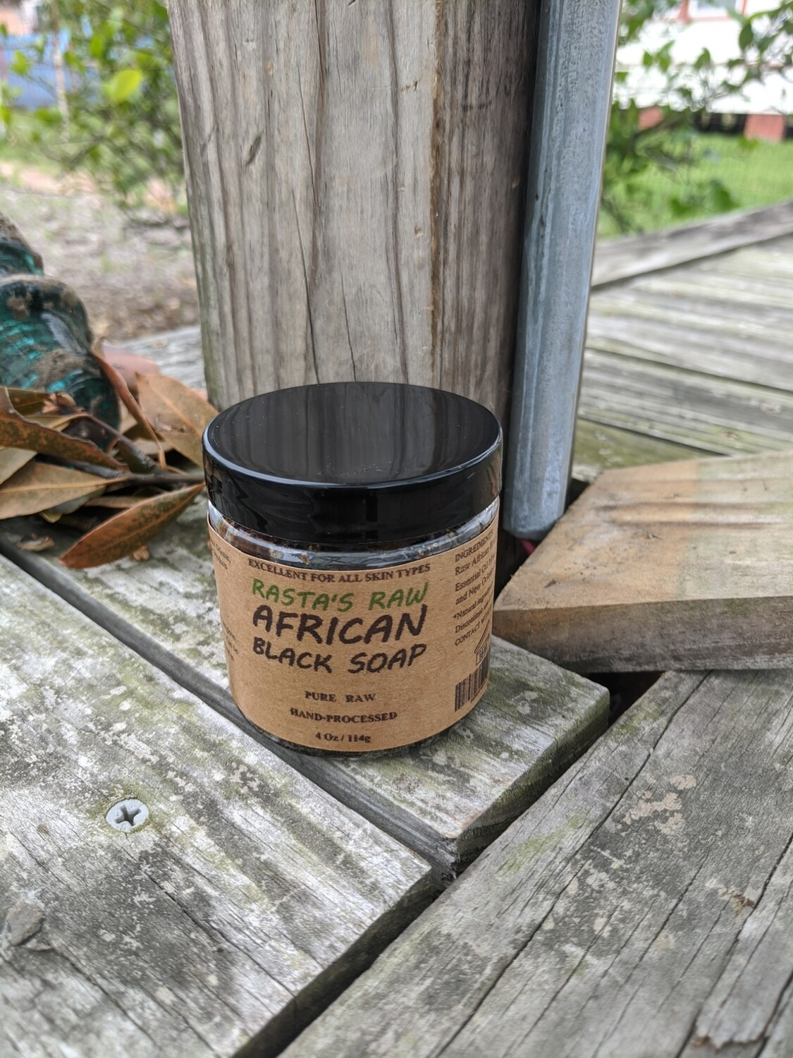 Rasta's Raw African Black Soap
