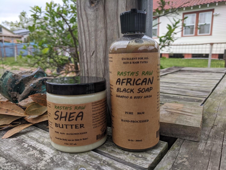 Rasta's Raw  Hair/Skin POWER PACK
