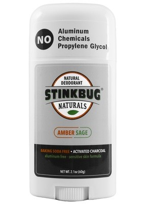 Stinkbug-Amber Sage Charcoal  deodorant