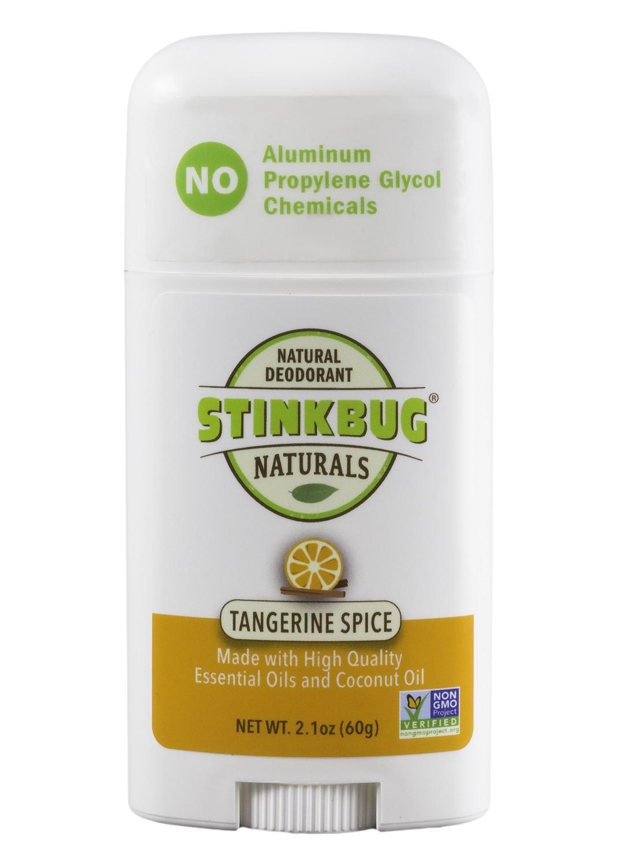Stinkbug-Tangerine Spice Coconut Oil deodorant