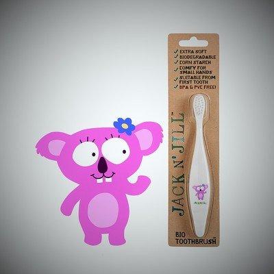 Jack N' Jill Bio Koala Brush