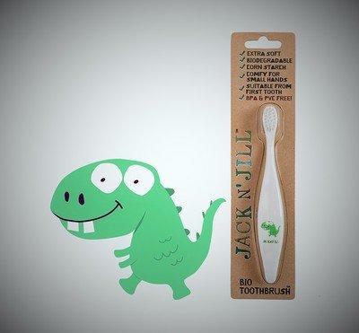 Jack N' Jill Bio Dino brush