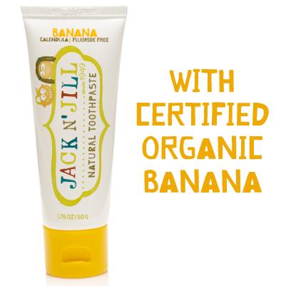 Jack 'N Jill Kids Banana Organic Toothpaste